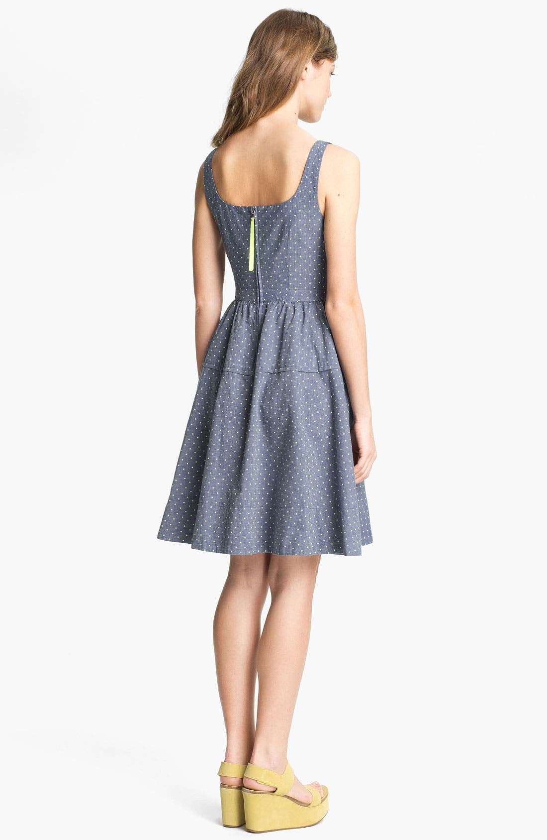 Alternate Image 2  - MARC BY MARC JACOBS 'Dotty' Cotton Fit & Flare Dress