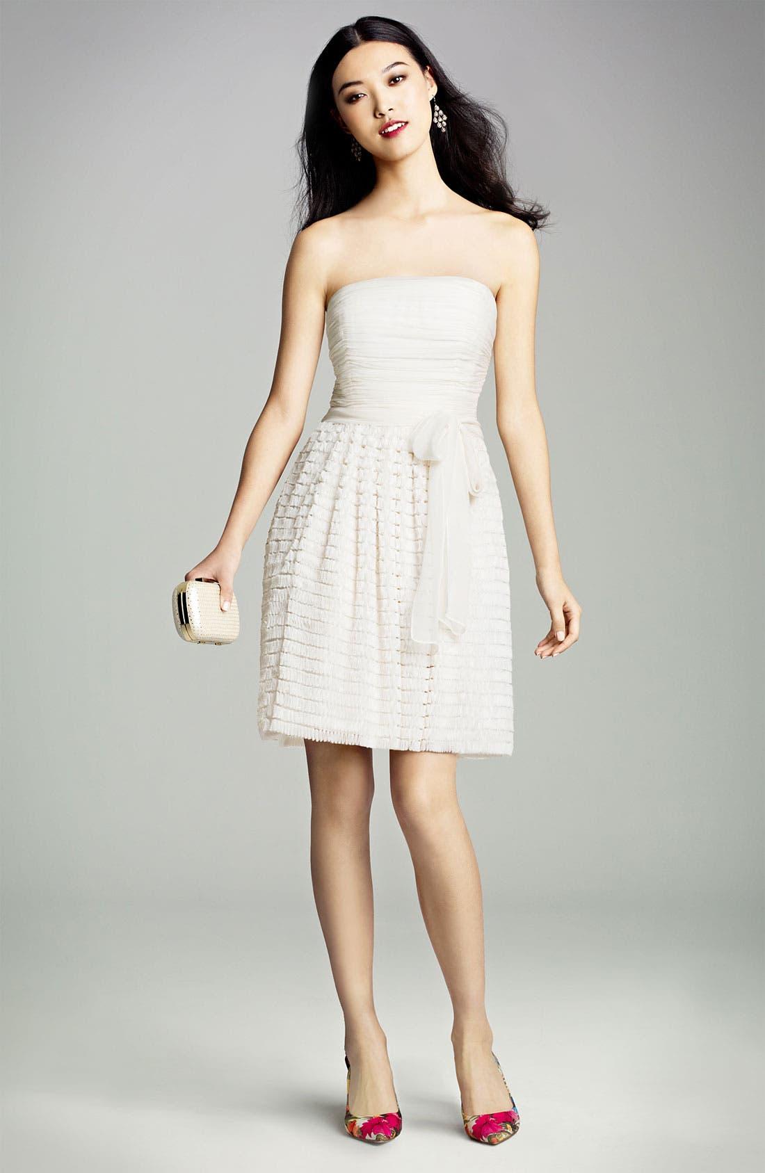Alternate Image 4  - Jill Jill Stuart Ruffled Chiffon Fit & Flare Dress