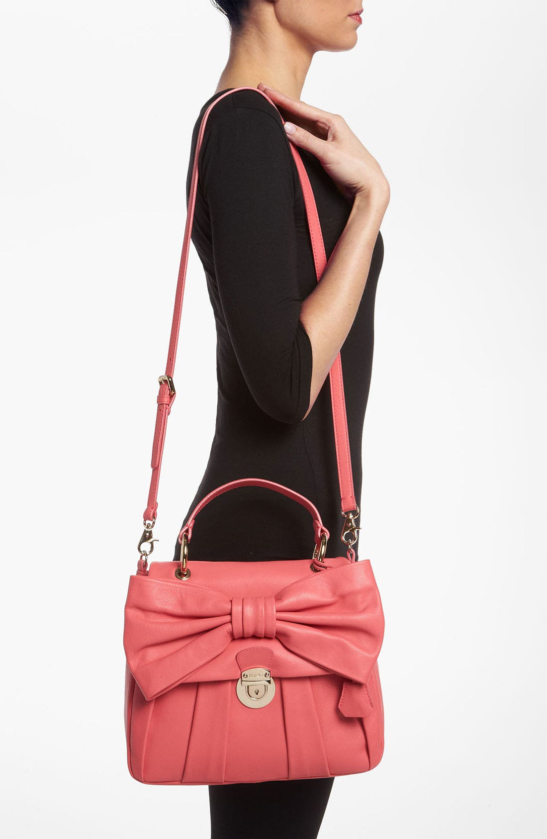 Alternate Image 2  - RED Valentino 'Bow - Small' Leather Satchel