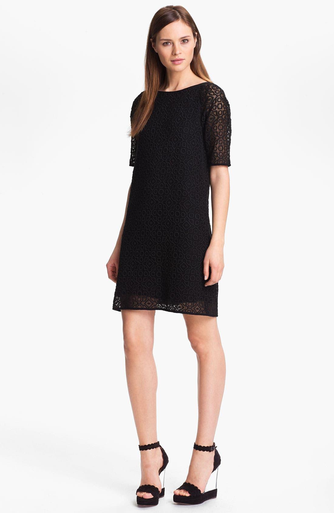 Alternate Image 1 Selected - Tibi Geometric Lace Dress