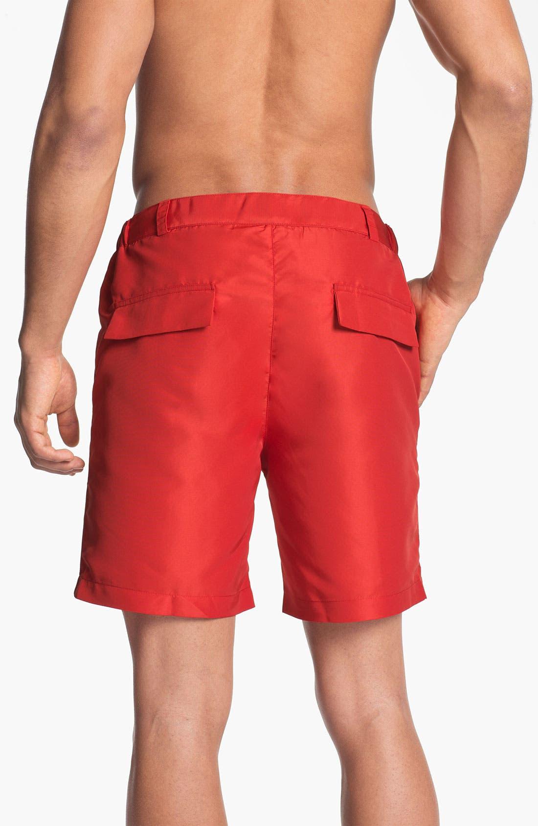 Alternate Image 2  - BOSS HUGO BOSS 'Tigerfish' Volley Swim Shorts (Men)