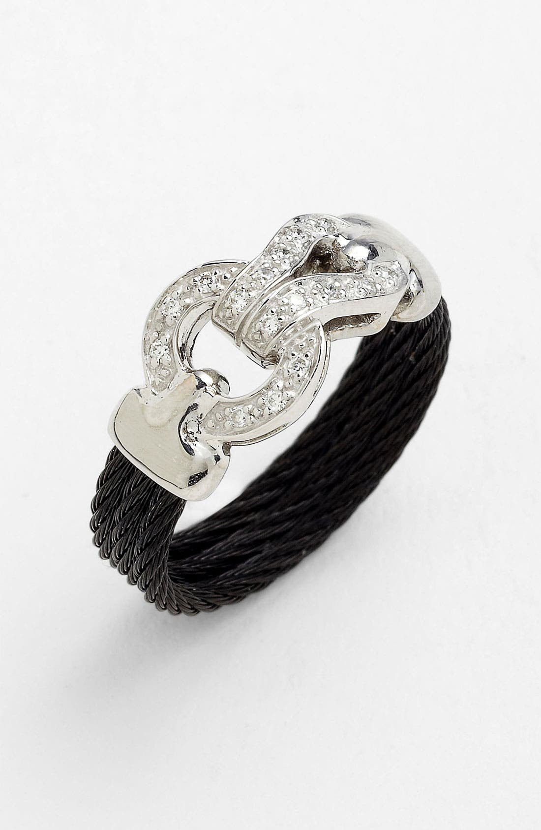Main Image - ALOR® Diamond Knot Cable Ring
