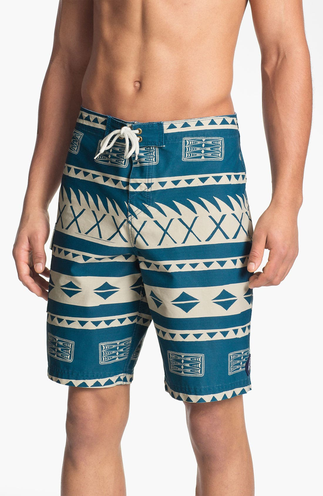 Alternate Image 1 Selected - Jack O'Neill 'Bukit Print' Board Shorts