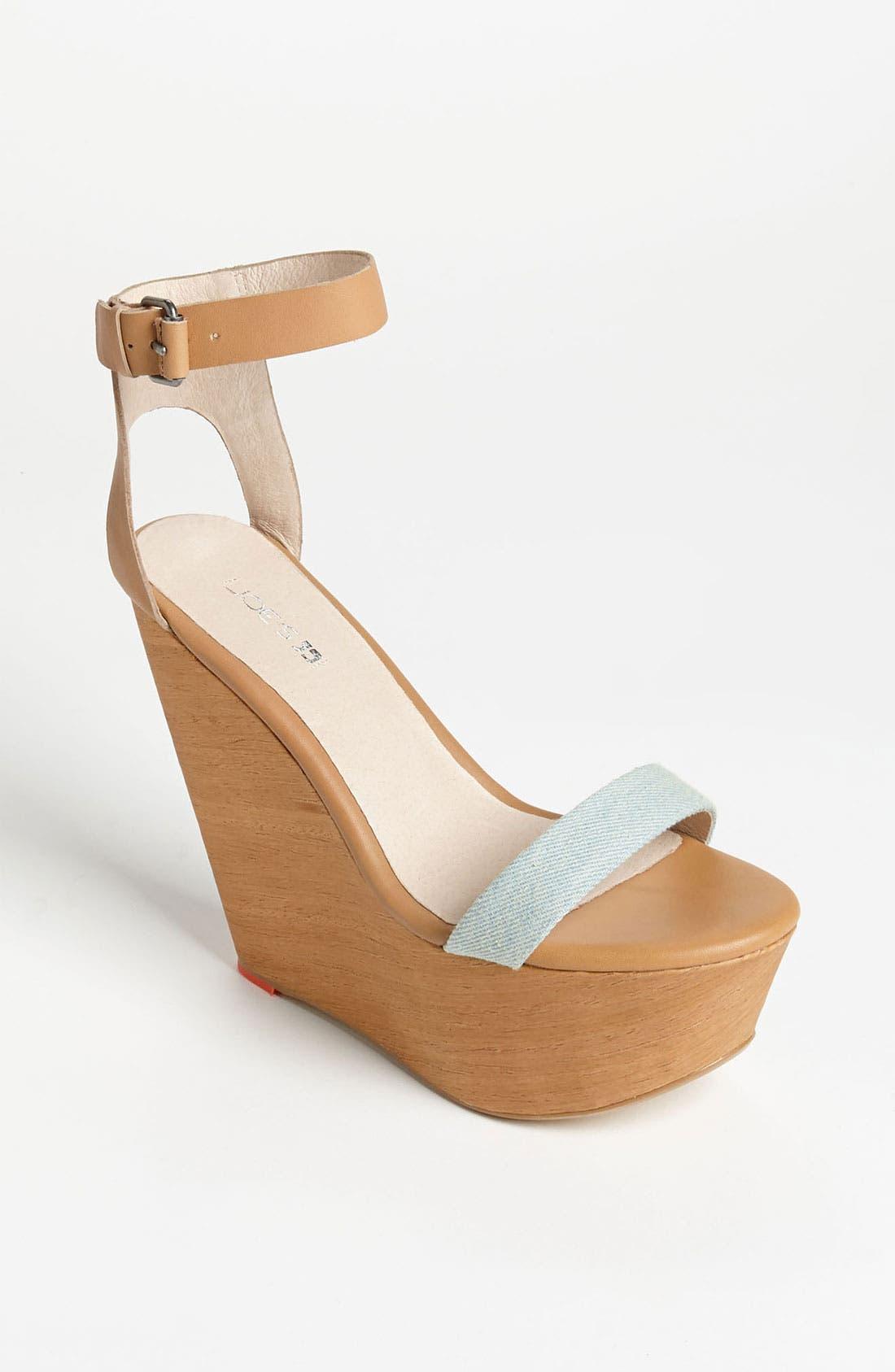 Alternate Image 1 Selected - Joe's Wedge Sandal