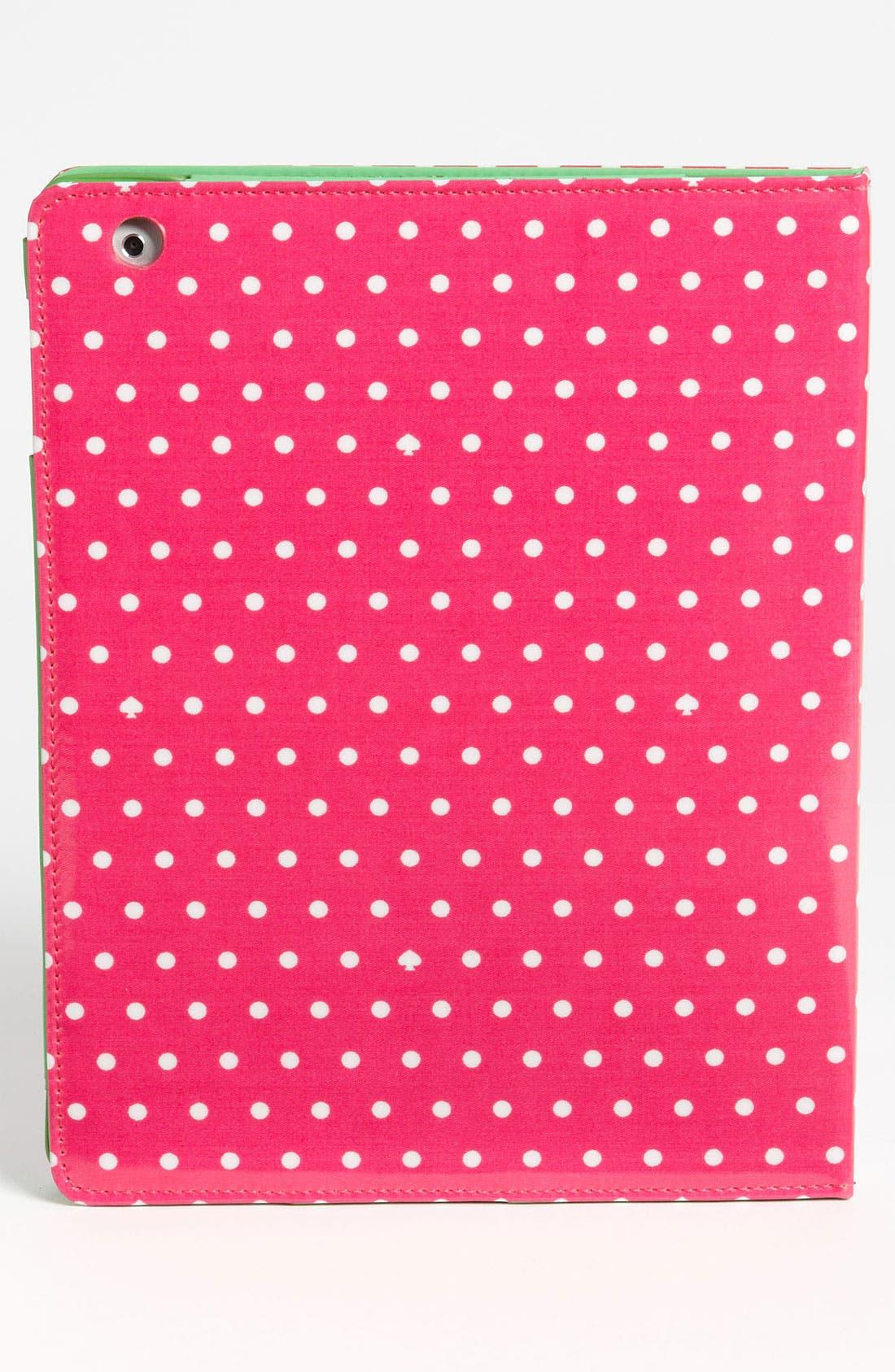 Alternate Image 4  - kate spade new york 'dots and spades' iPad folio