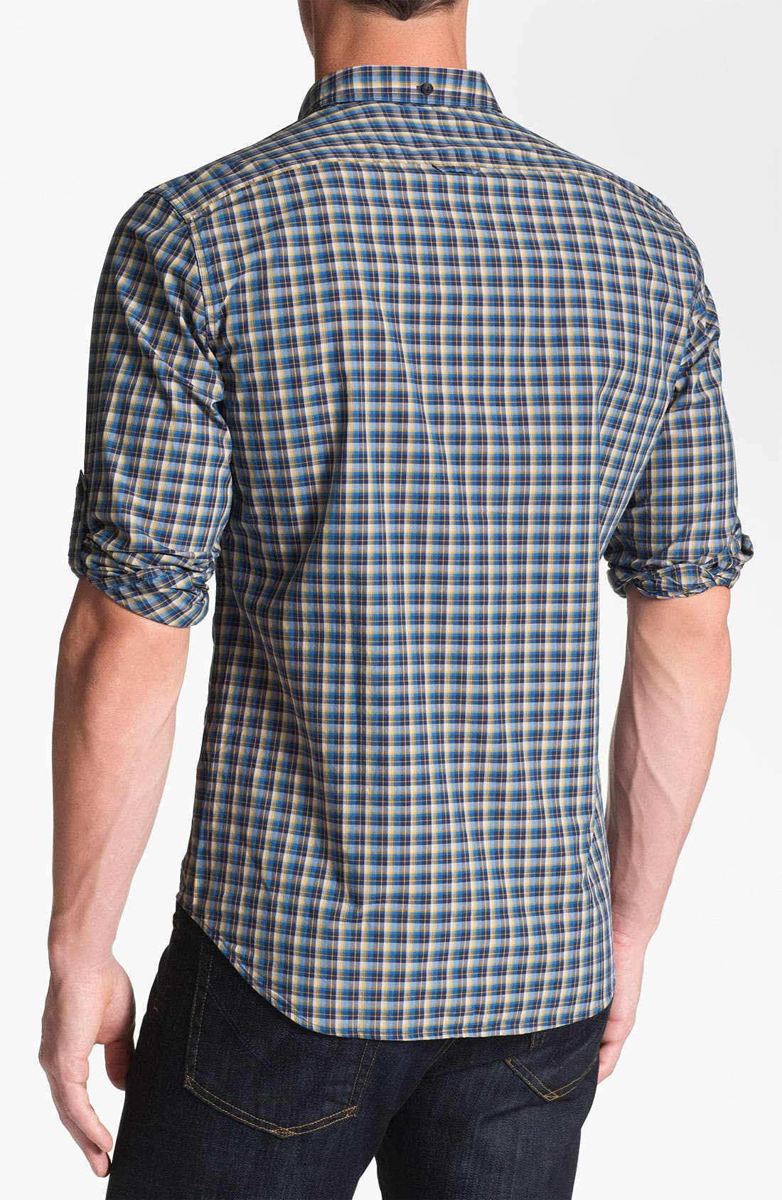 Alternate Image 2  - Burberry Brit 'Adken' Plaid Sport Shirt