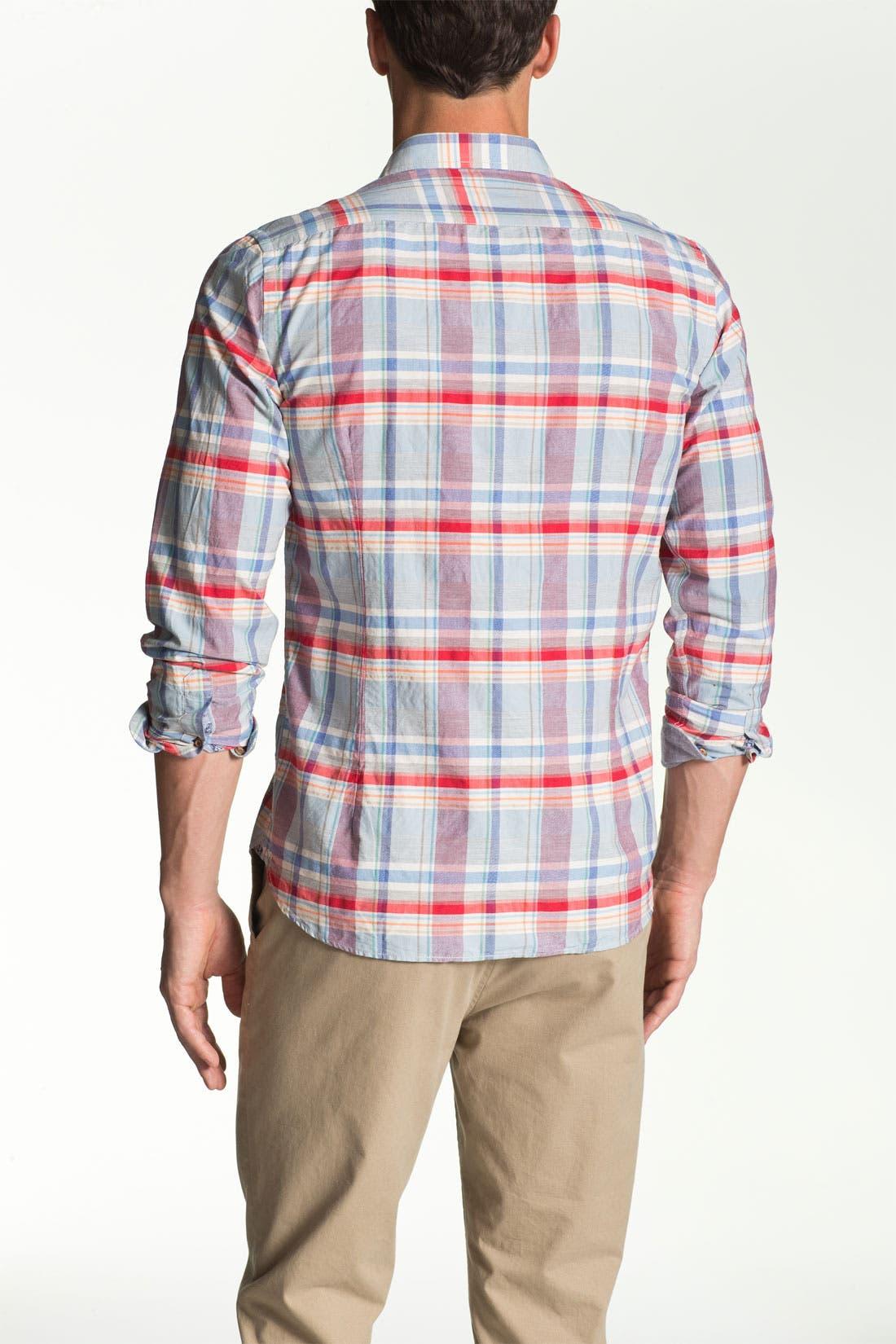 Alternate Image 2  - Ted Baker London 'Bigage' Trim Fit Sport Shirt