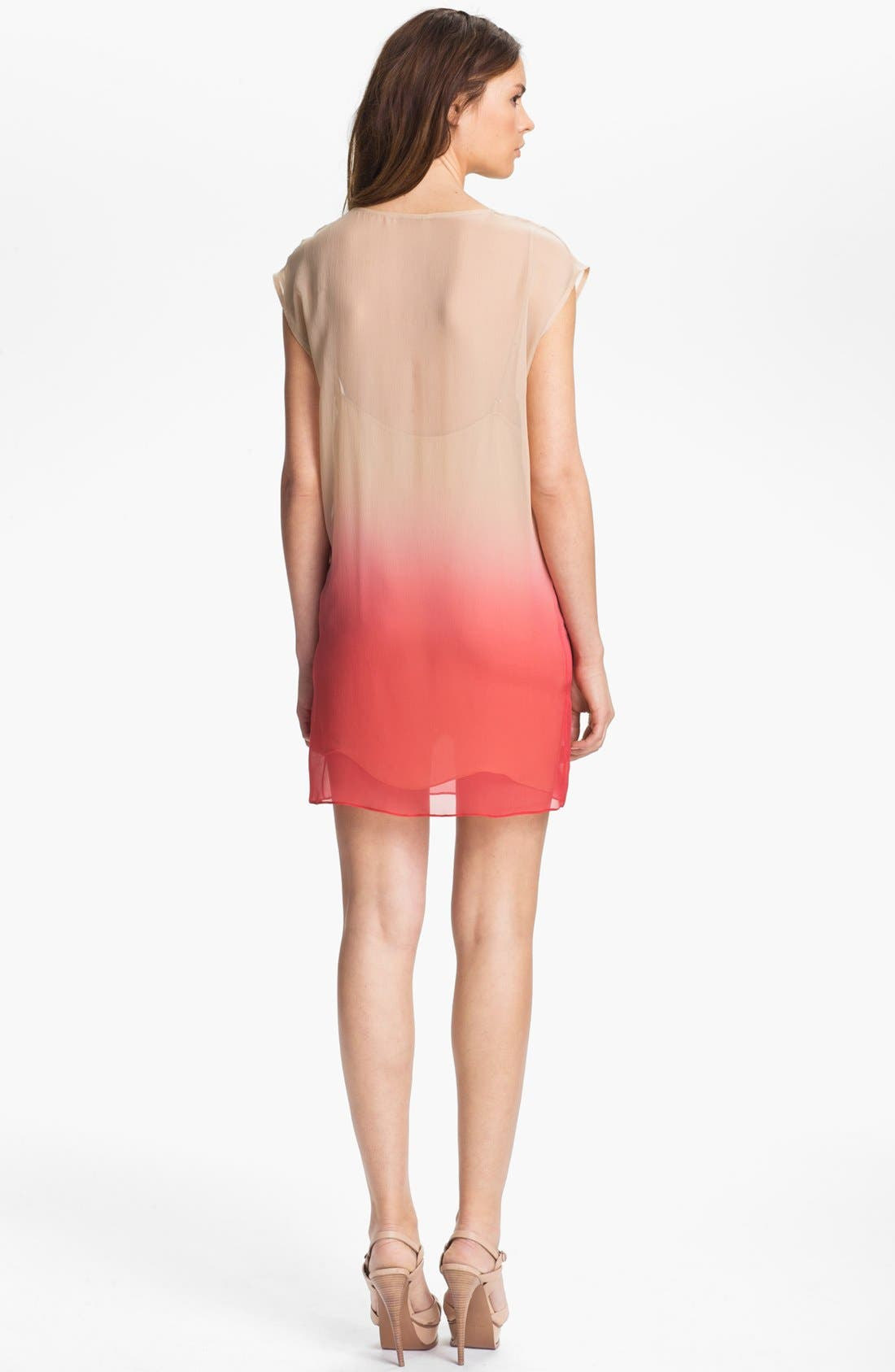 Alternate Image 2  - Haute Hippie Ombré Silk Chiffon Dress