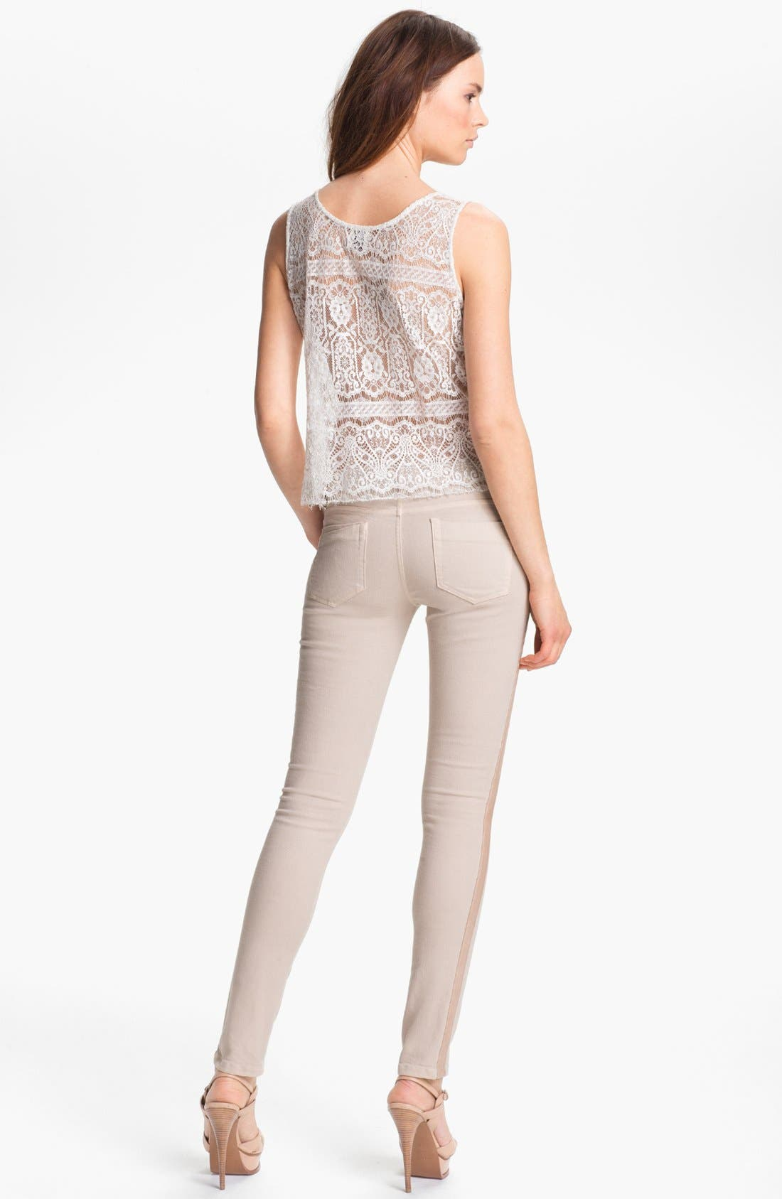 Alternate Image 2  - Haute Hippie 'Deco' Lace Top