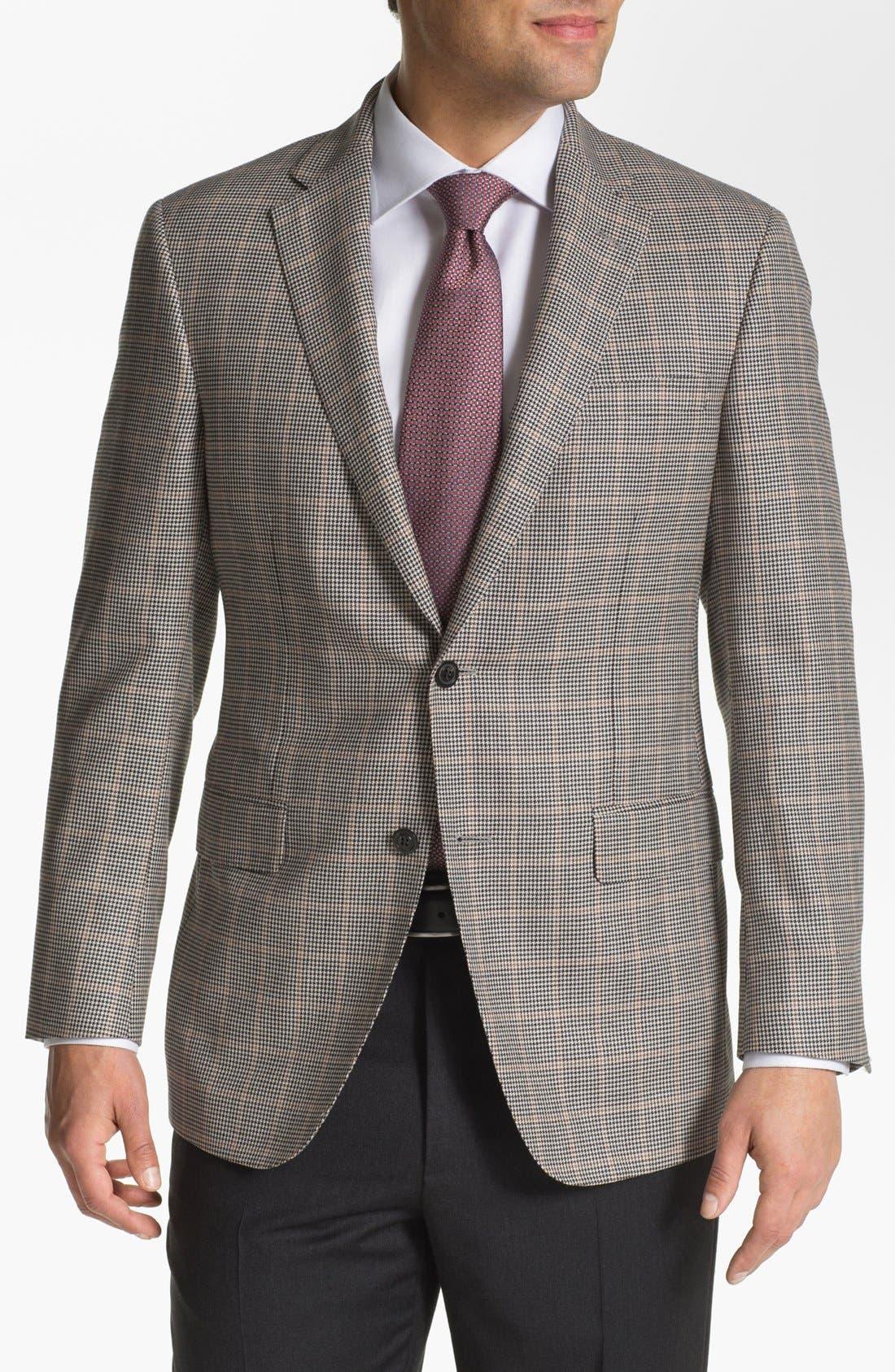 Alternate Image 1 Selected - Samuelsohn Windowpane Sportcoat