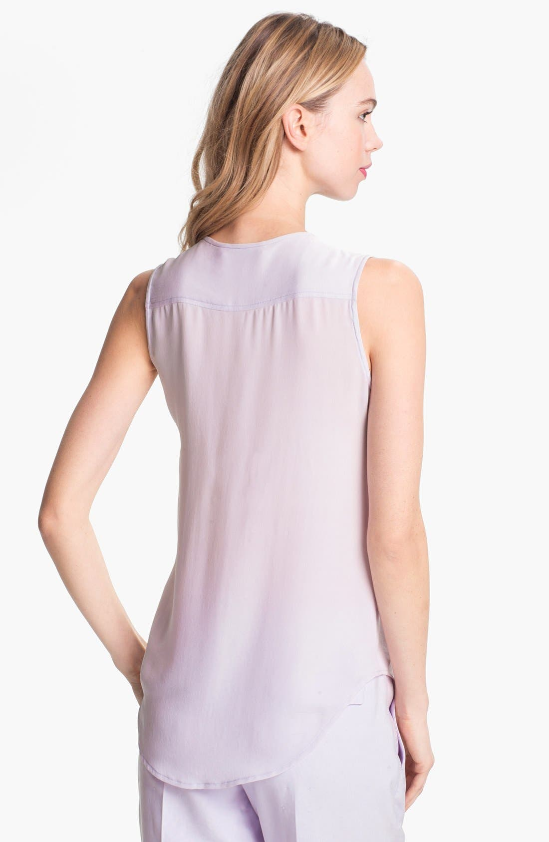 Alternate Image 2  - Theory 'Eriel' Silk Top