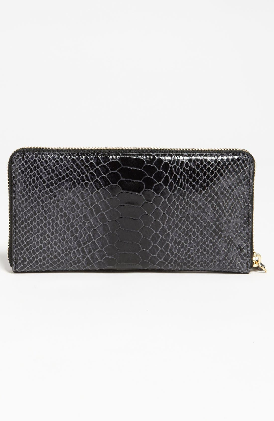 Alternate Image 3  - Milly 'Claudia' Snake Embossed Wallet