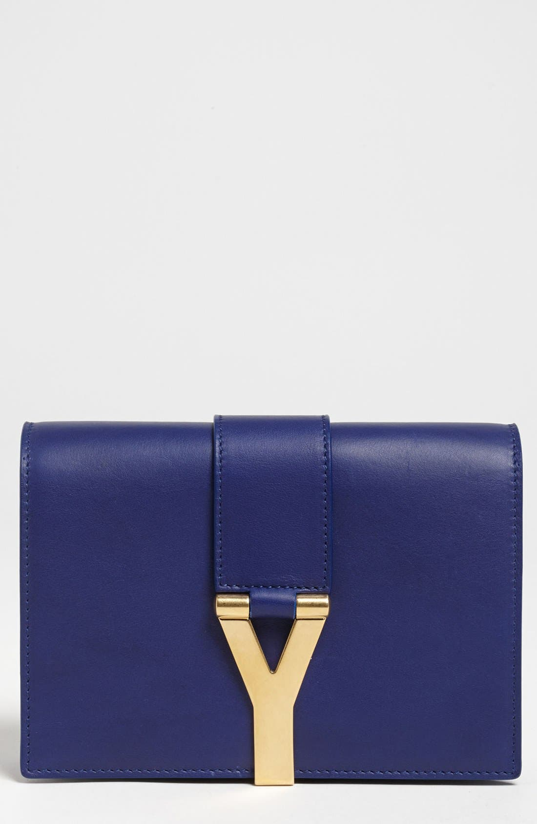 Main Image - Saint Laurent 'Y Chain - Mini' Leather Handbag