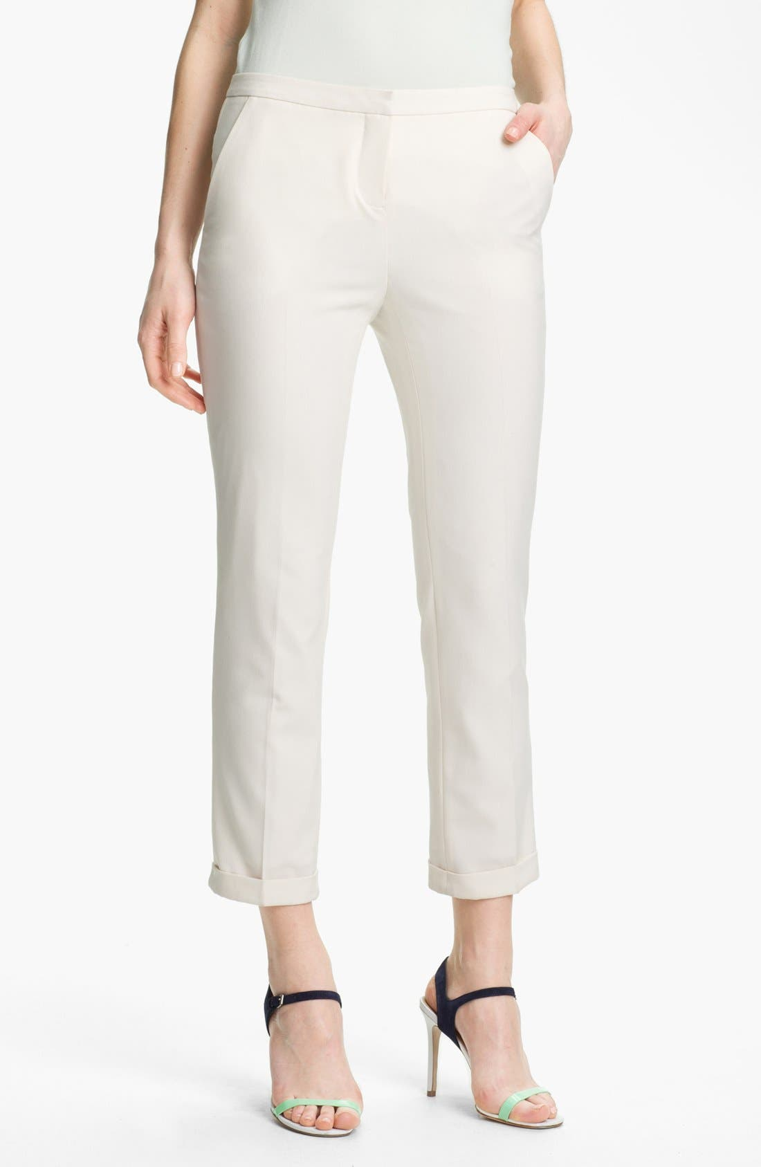 Alternate Image 1 Selected - Vince Camuto Cuffed Skinny Ankle Pants