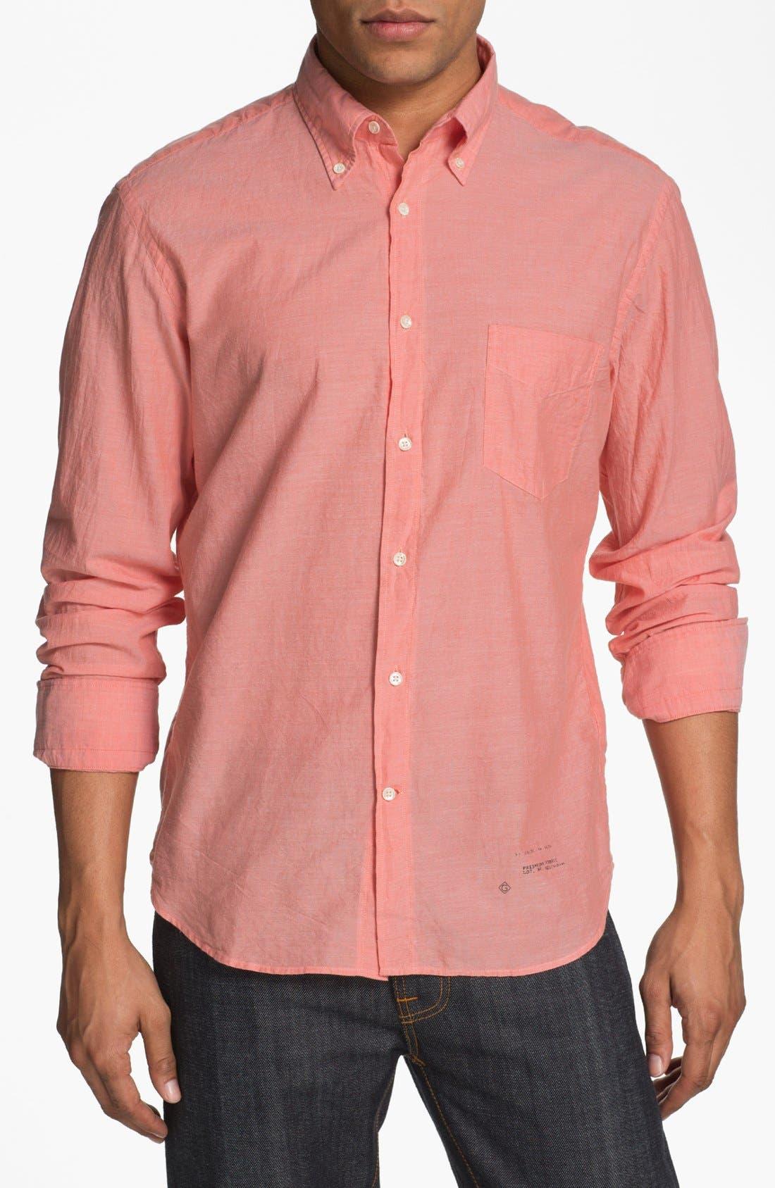 Alternate Image 1 Selected - Gant Rugger Woven Shirt