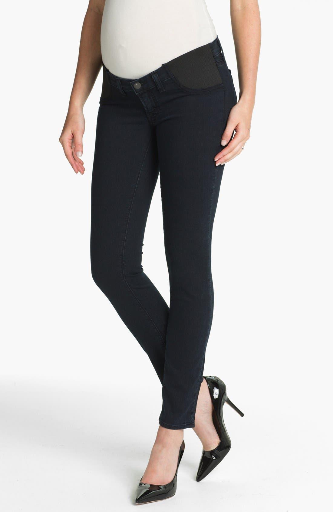 Alternate Image 1 Selected - J Brand Denim Maternity Leggings (Olympia)