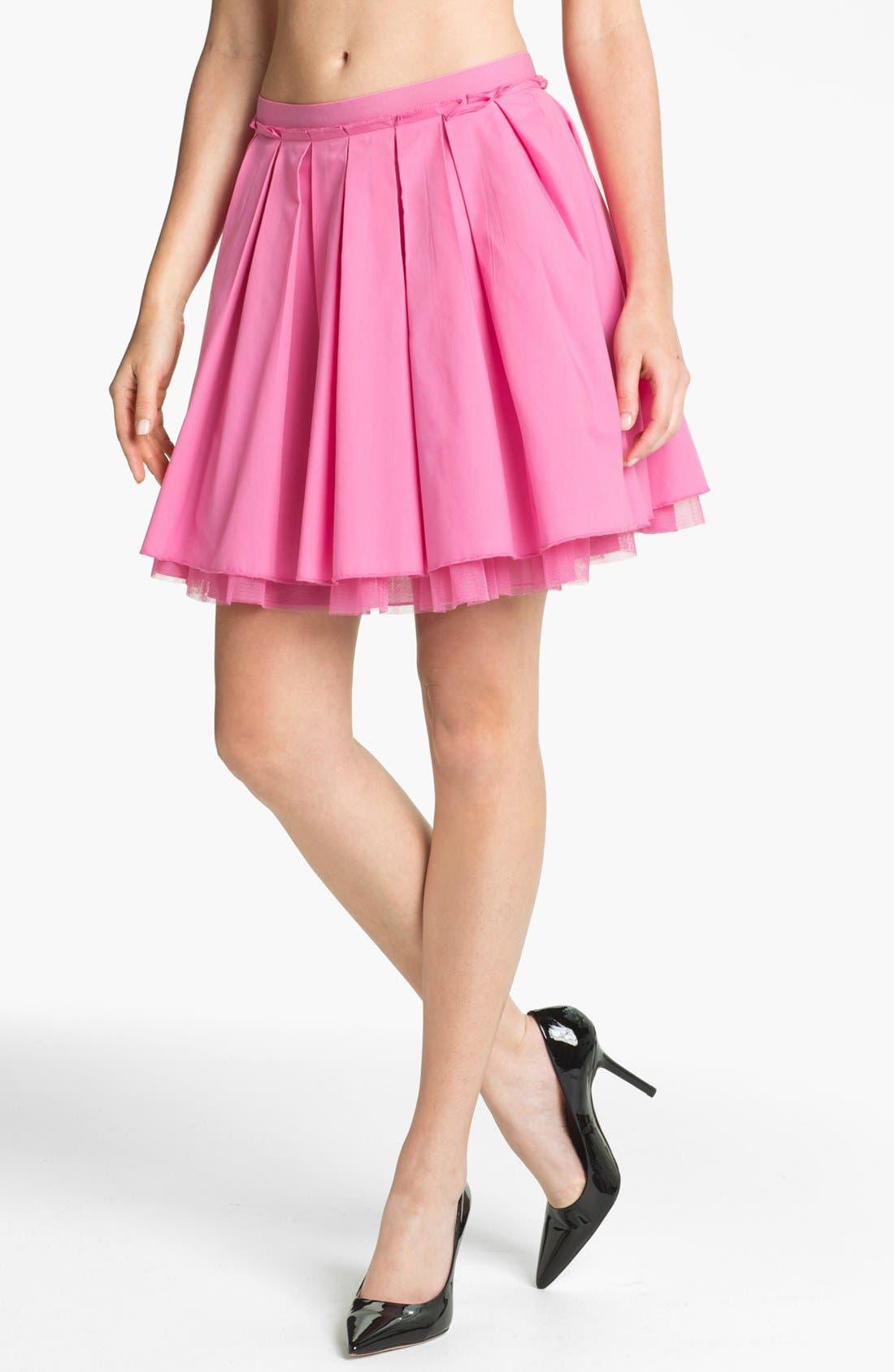 Alternate Image 1 Selected - Remain Crinoline Pleated Skirt