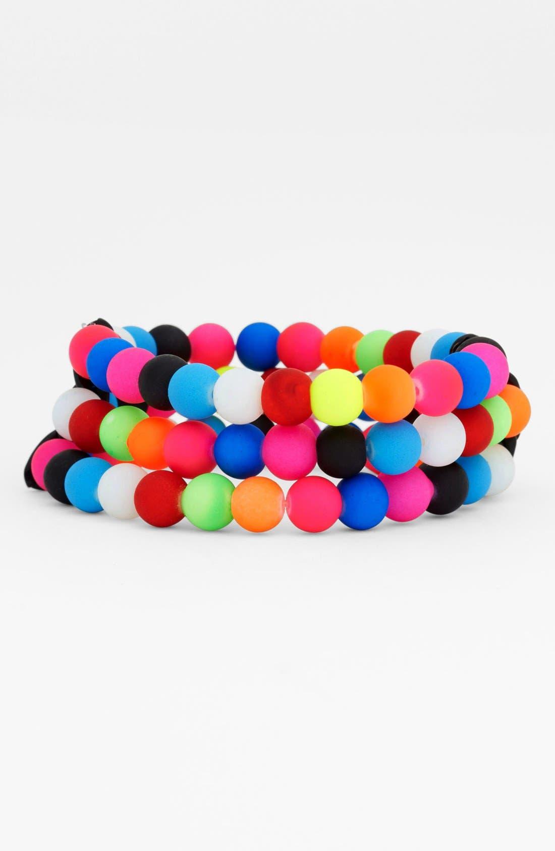 Alternate Image 1 Selected - Spring Street Stretch Bracelet
