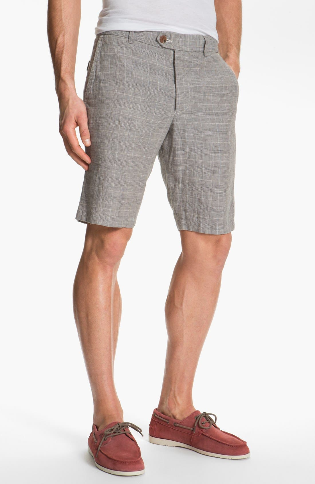 Main Image - French Connection 'Wales' Linen Shorts