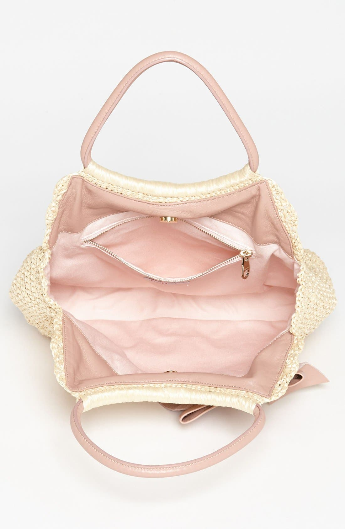 Alternate Image 3  - RED Valentino Crochet Raffia Hobo