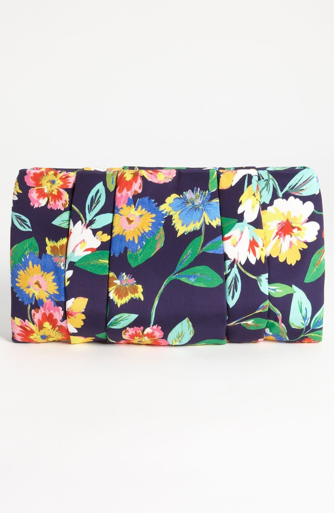 Alternate Image 4  - kate spade new york 'evening belle - april' floral clutch