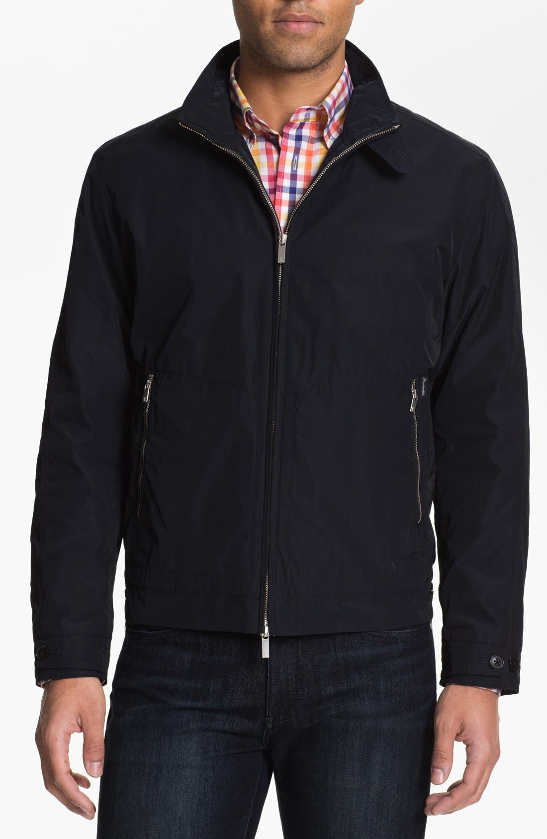 Main Image - Façonnable Open Bottom Jacket (Big & Tall)