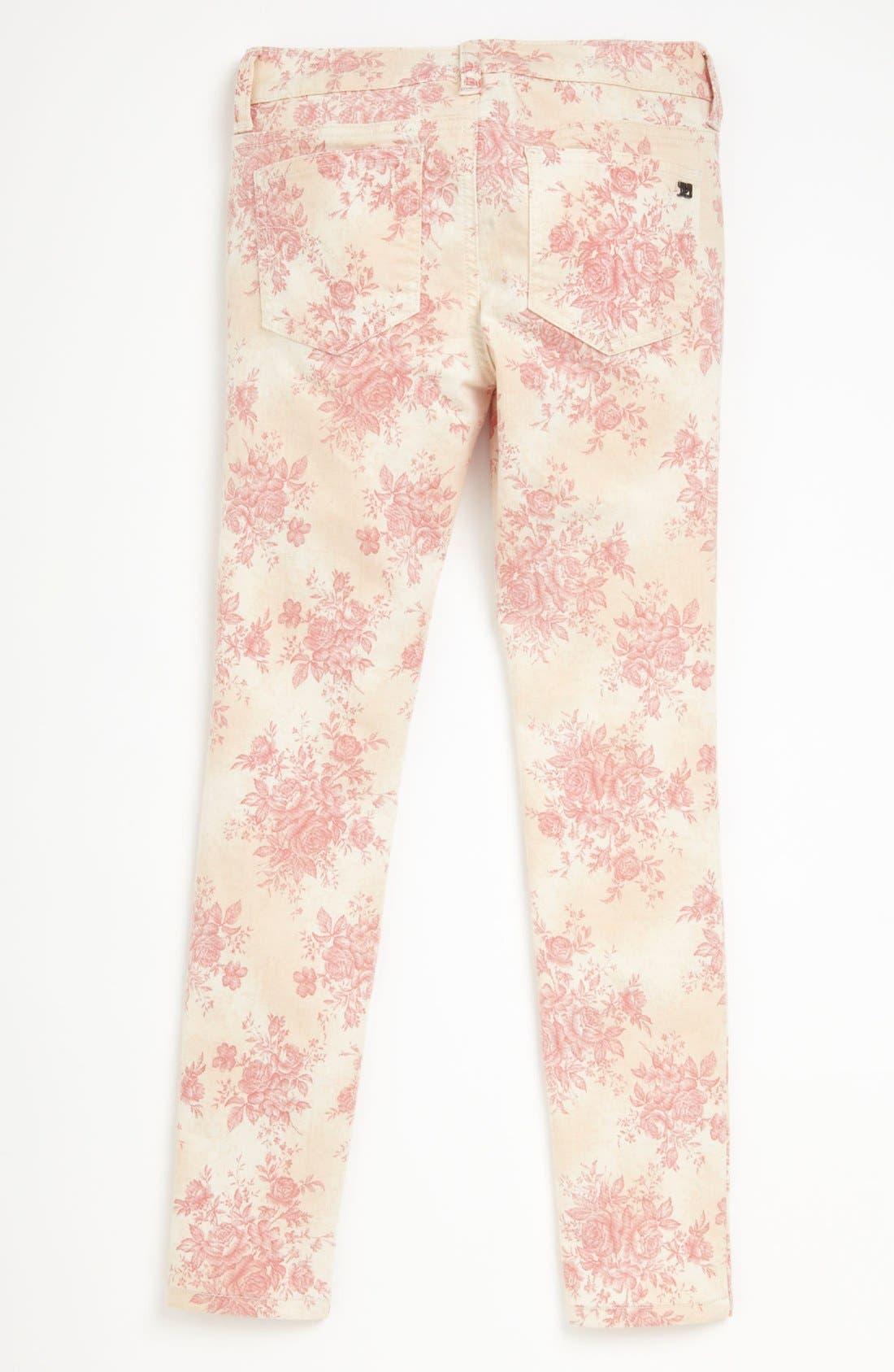 Alternate Image 1 Selected - Joe's Printed Ultra Slim Fit Denim Leggings (Big Girls)