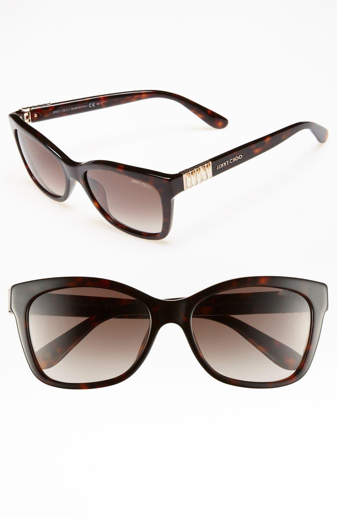 Alternate Image 1 Selected - Jimmy Choo 'Mimi' 54mm Sunglasses