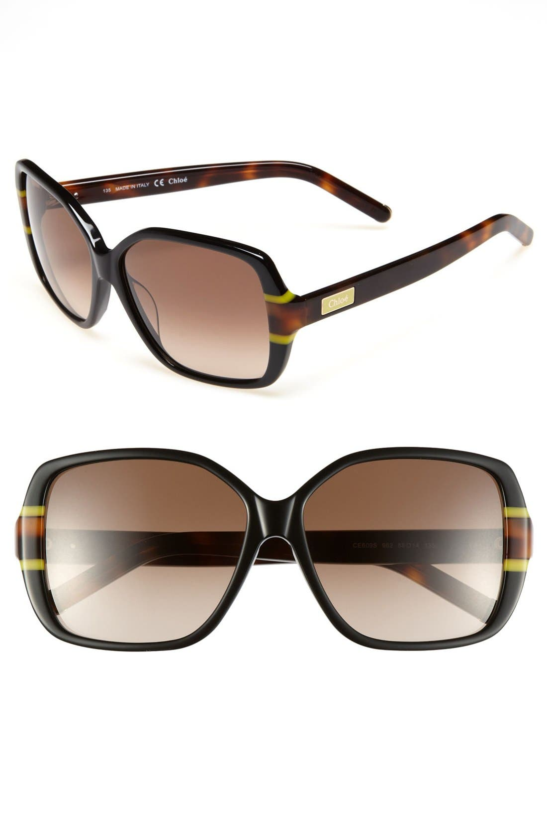 Main Image - Chloé 'Cycas' 58mm Sunglasses