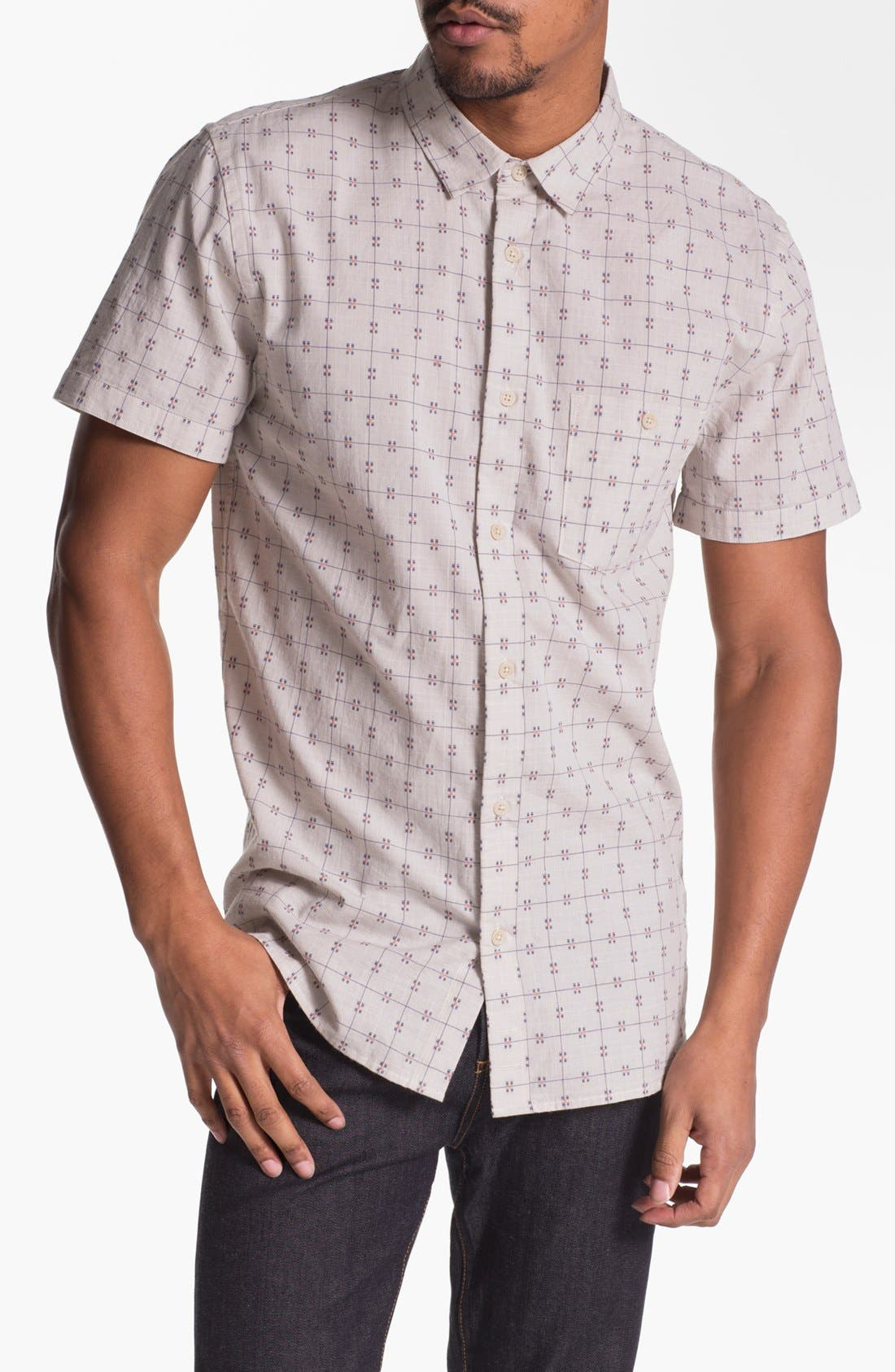 Main Image - 7 For All Mankind® Dobby Woven Shirt