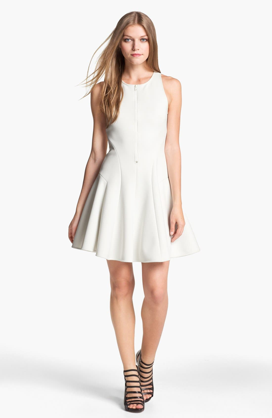 Alternate Image 1 Selected - Theory 'Cella' Fit & Flare Dress