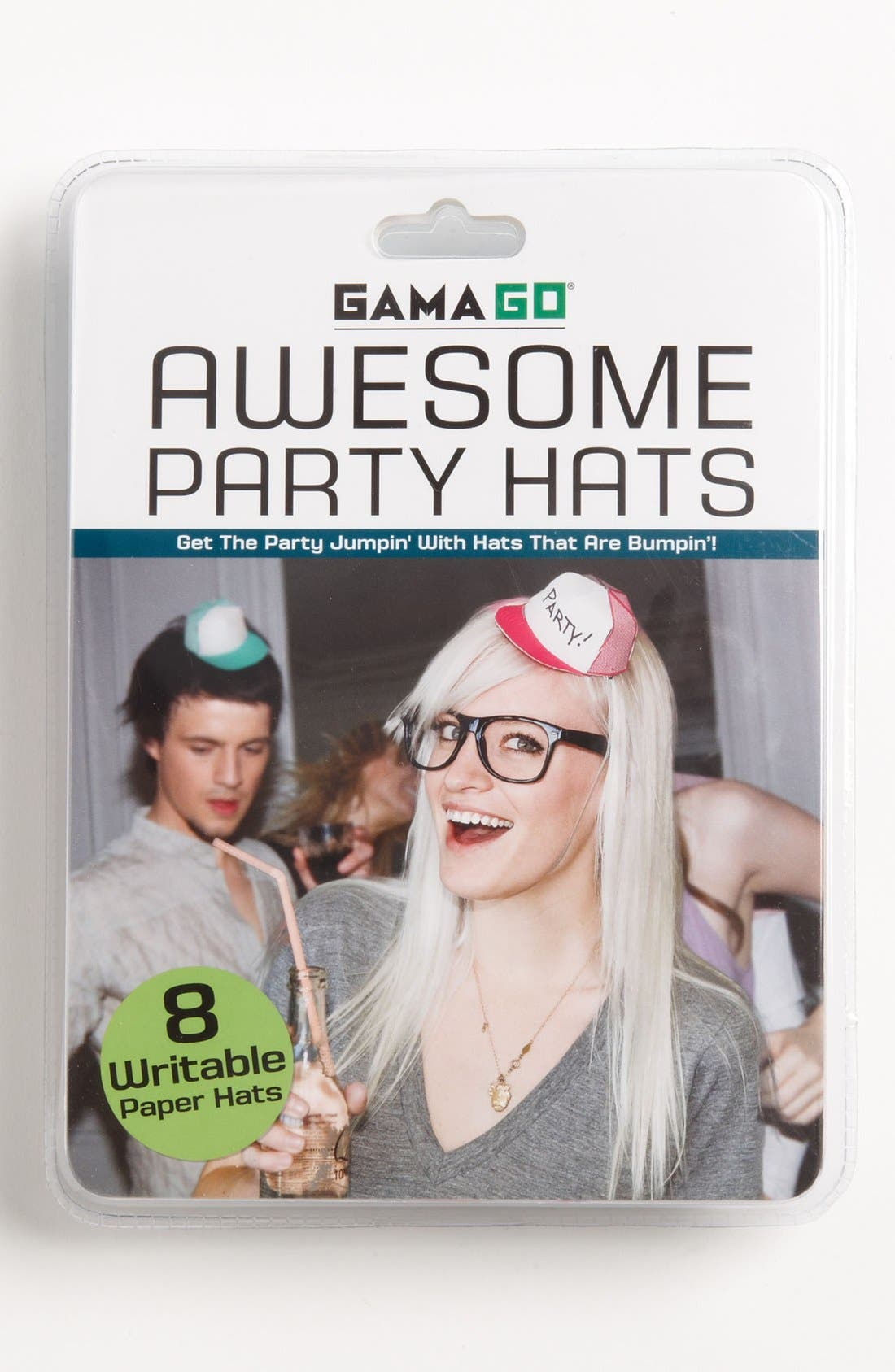 Main Image - Write-On Party Hats (Set of 8)