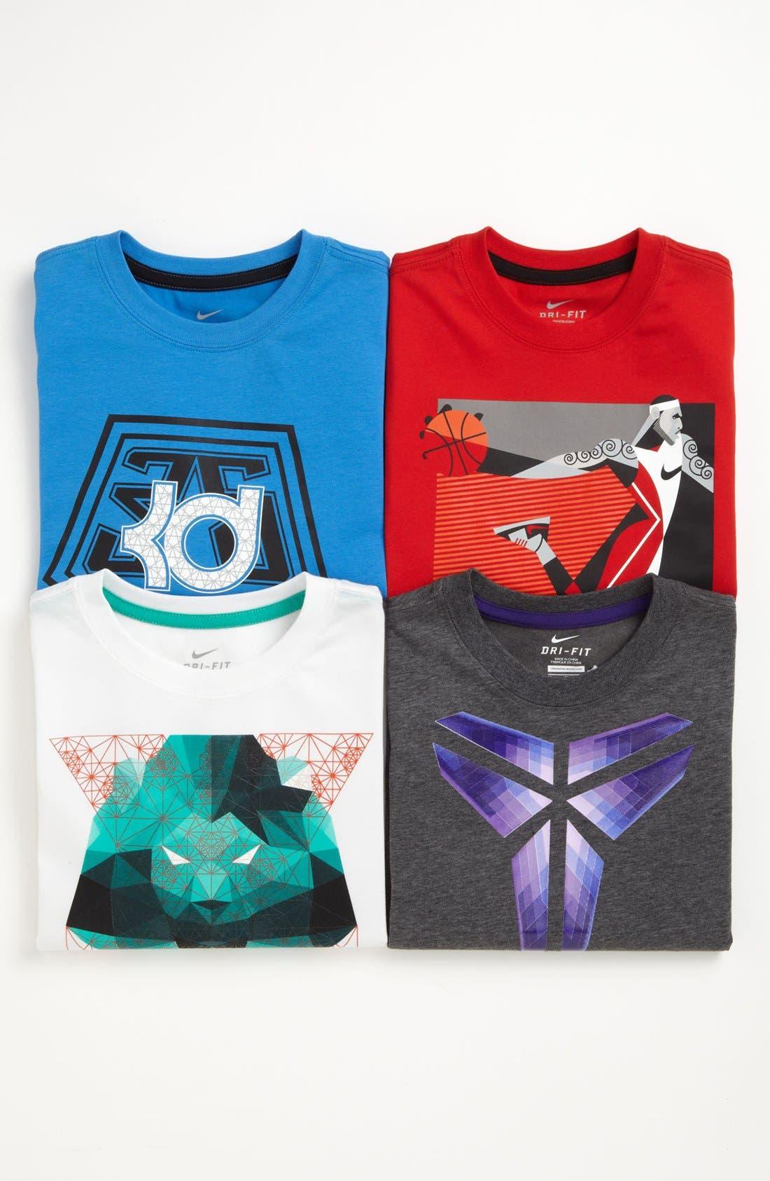 Alternate Image 2  - Nike 'Crest' Dri-FIT T-Shirt