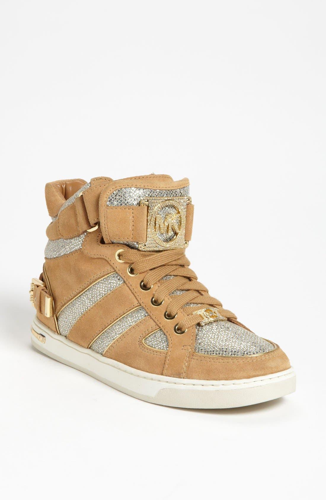 Alternate Image 1 Selected - MICHAEL Michael Kors 'Fulton' High Top Sneaker
