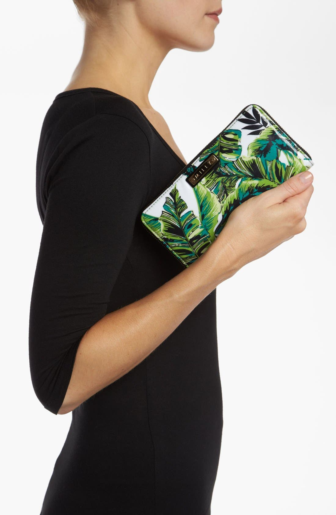 Alternate Image 4  - Milly 'Banana Leaf' Wallet