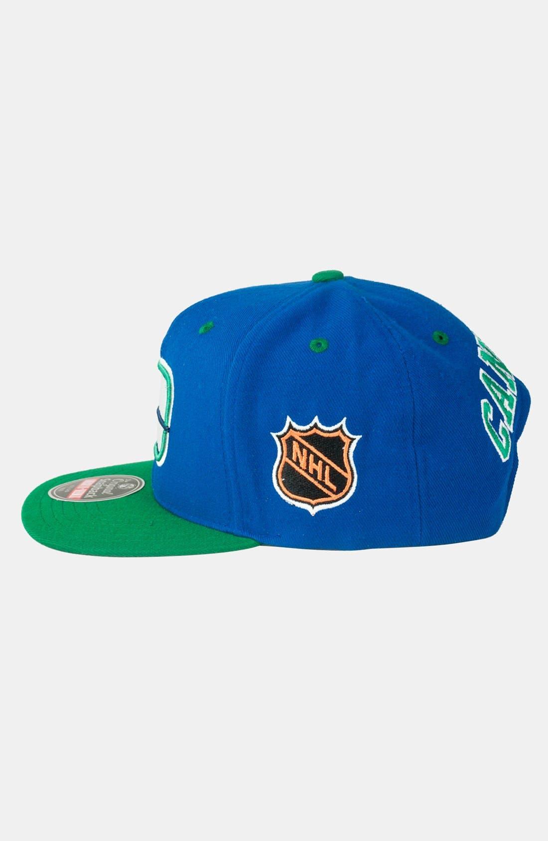 Alternate Image 3  - American Needle 'Vancouver Canucks - Blockhead' Snapback Hockey Cap