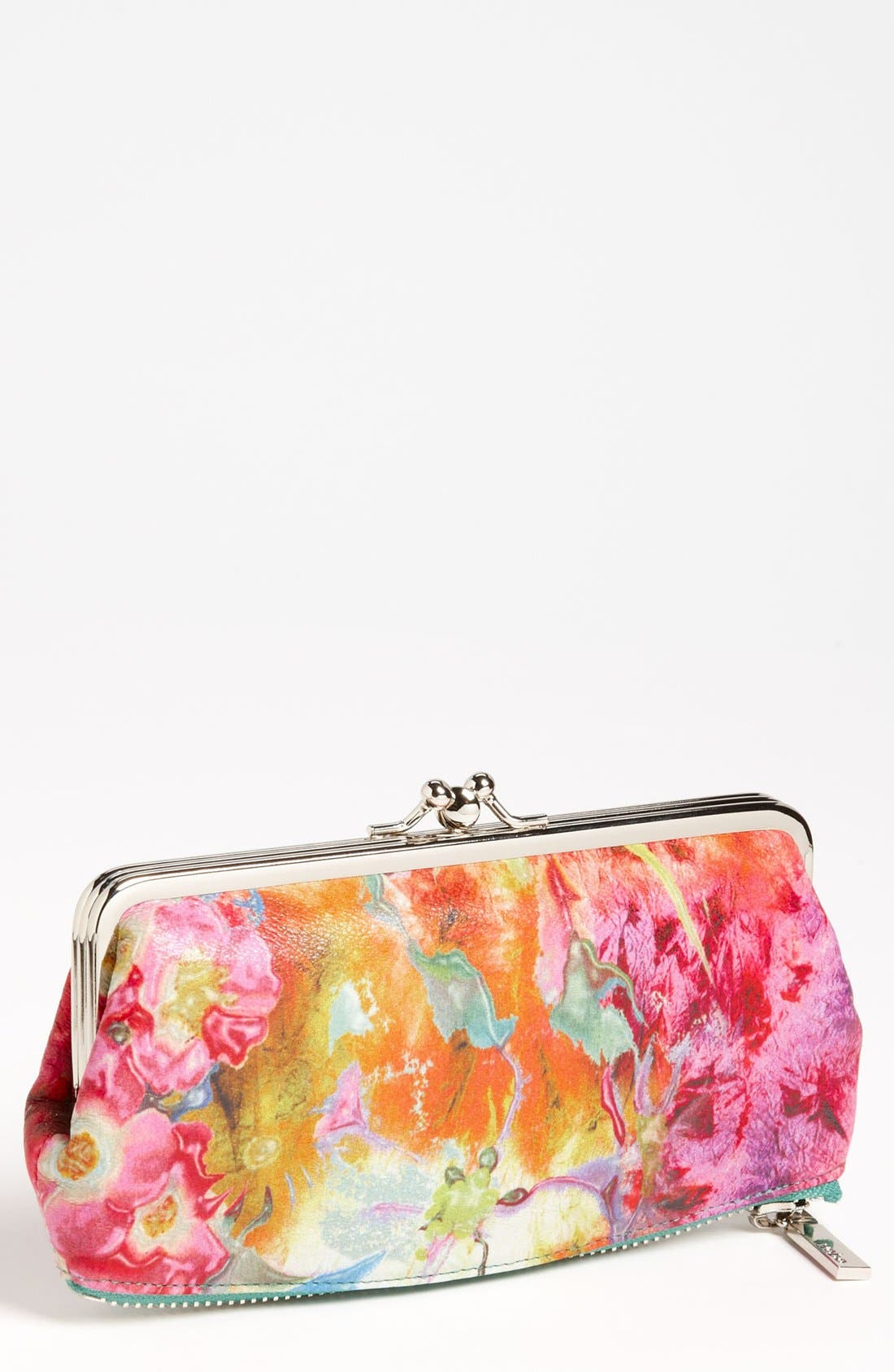 Alternate Image 1 Selected - Hobo 'Vintage Millie' Kisslock Clutch Wallet