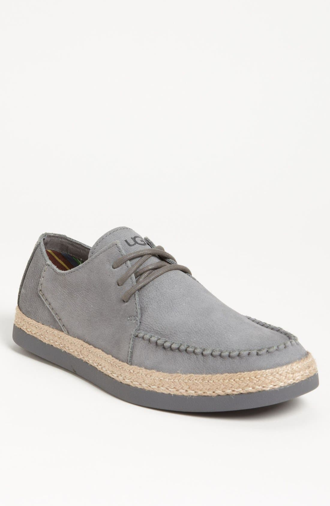Alternate Image 1 Selected - UGG® Australia 'McCall' Moc Toe Derby (Men)