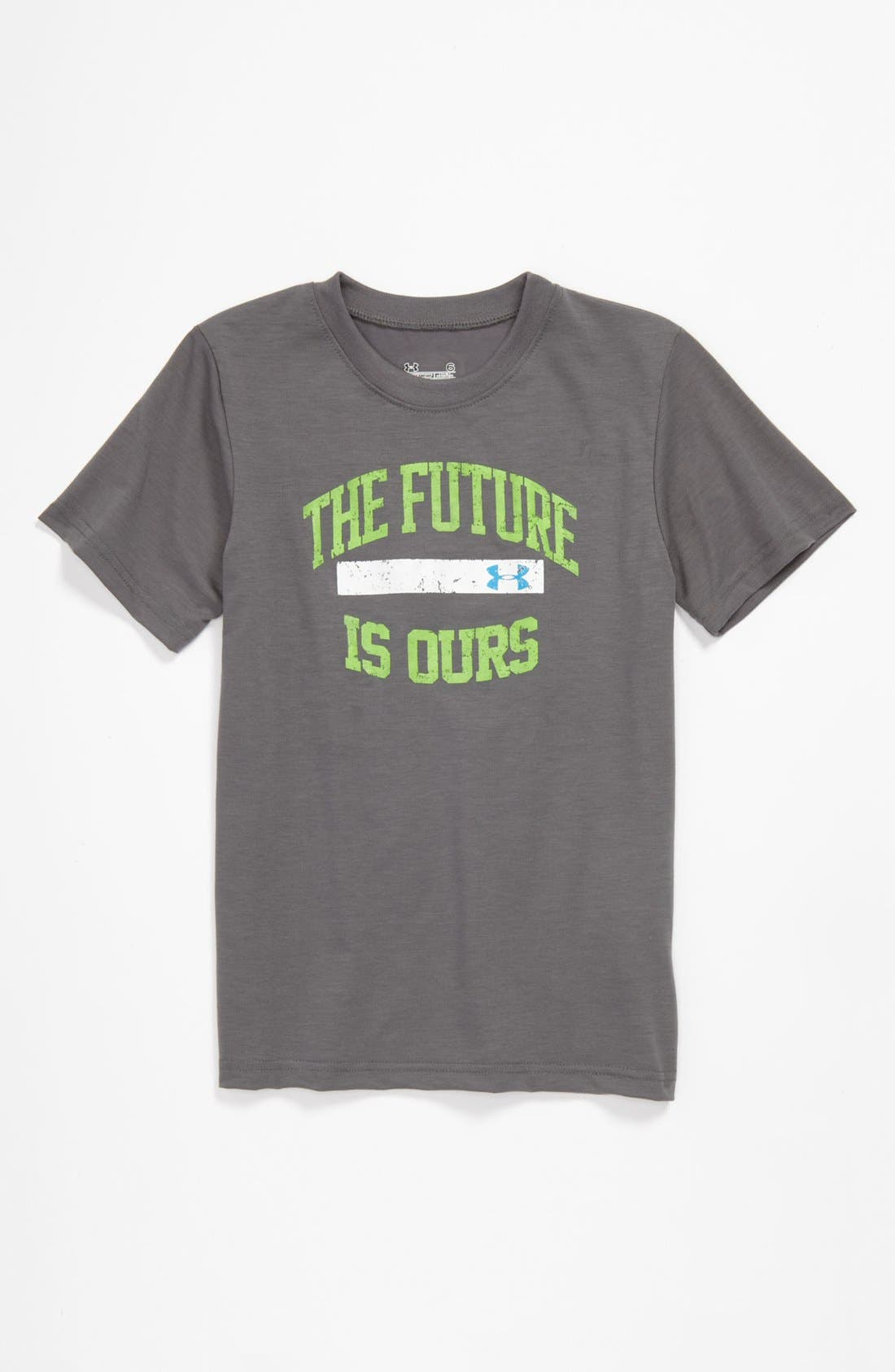 Main Image - Under Armour 'Future' T-Shirt (Little Boys)
