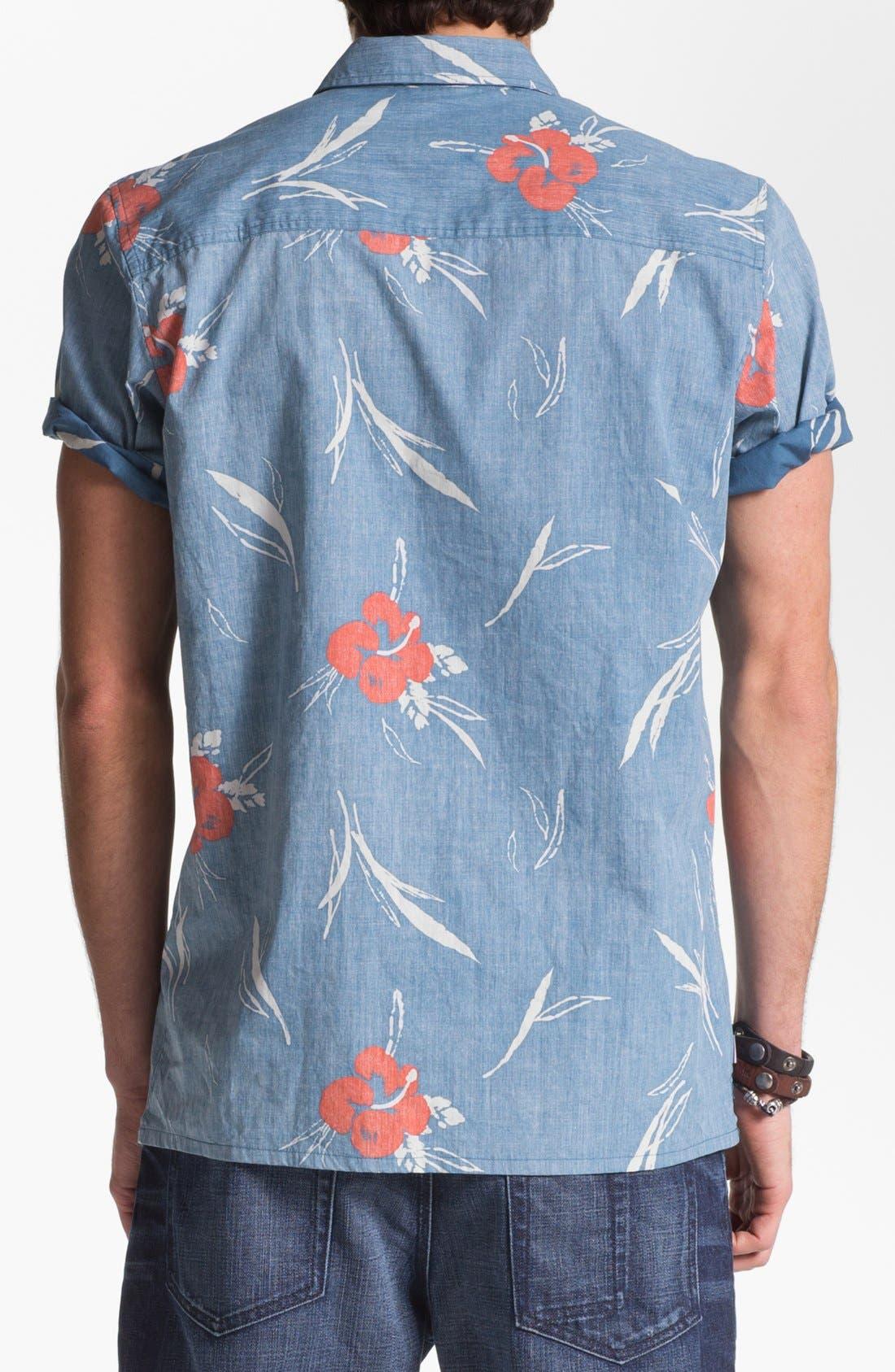 Alternate Image 2  - Jack O'Neill 'Sea Salt' Short Sleeve Sport Shirt
