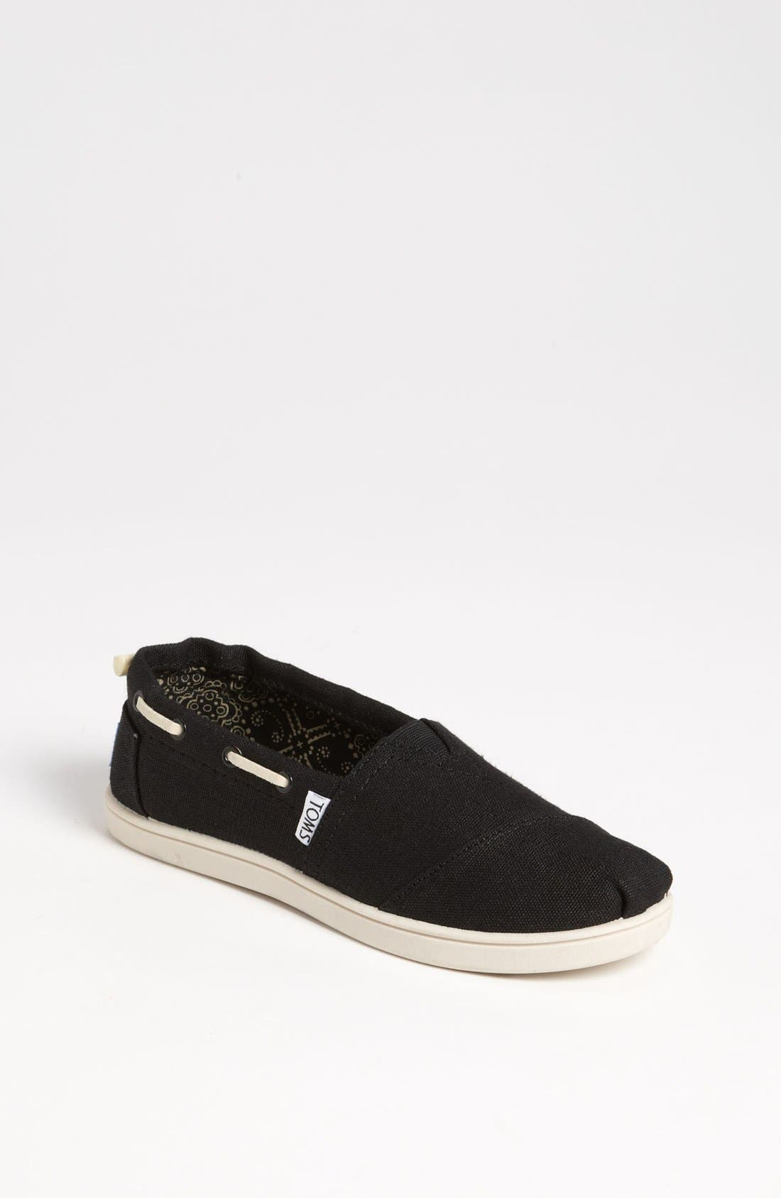 Main Image - TOMS 'Bimini - Youth' Slip-On (Toddler, Little Kid & Big Kid)