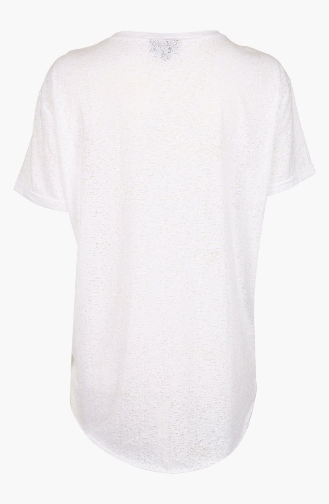 Alternate Image 2  - Topshop 'Always & Forever' Burnout Maternity Tee