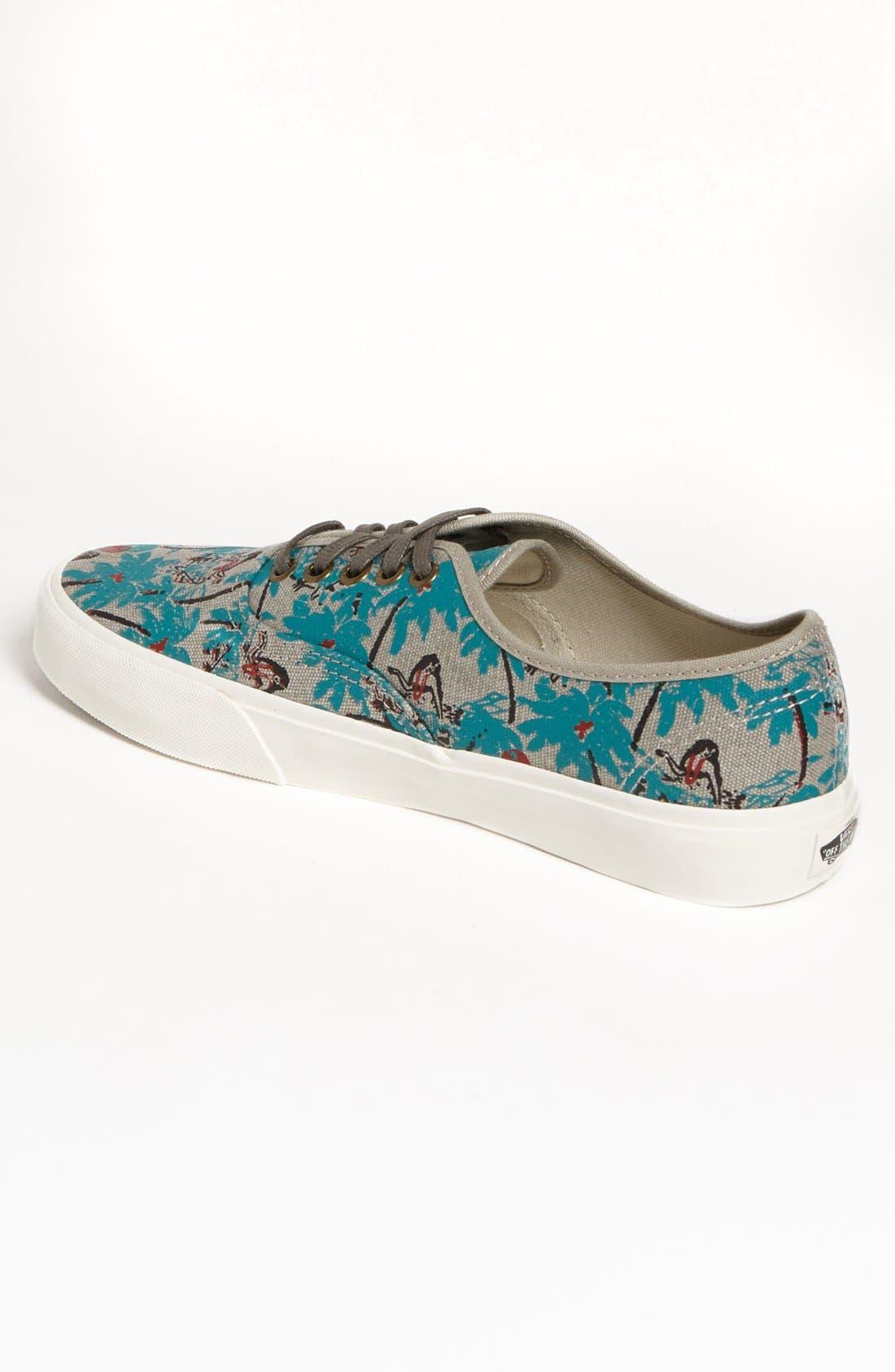 Alternate Image 2  - Vans 'Authentic CA' Sneaker (Men)