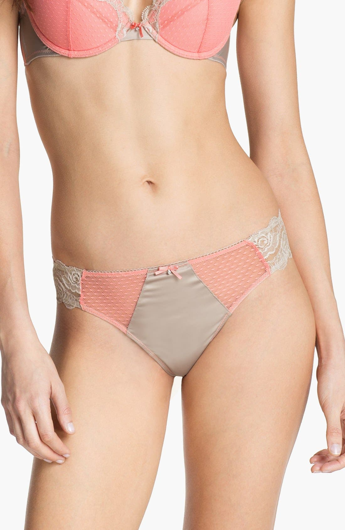 Main Image - Miss Studio by La Perla 'Romantic Bay' Thong