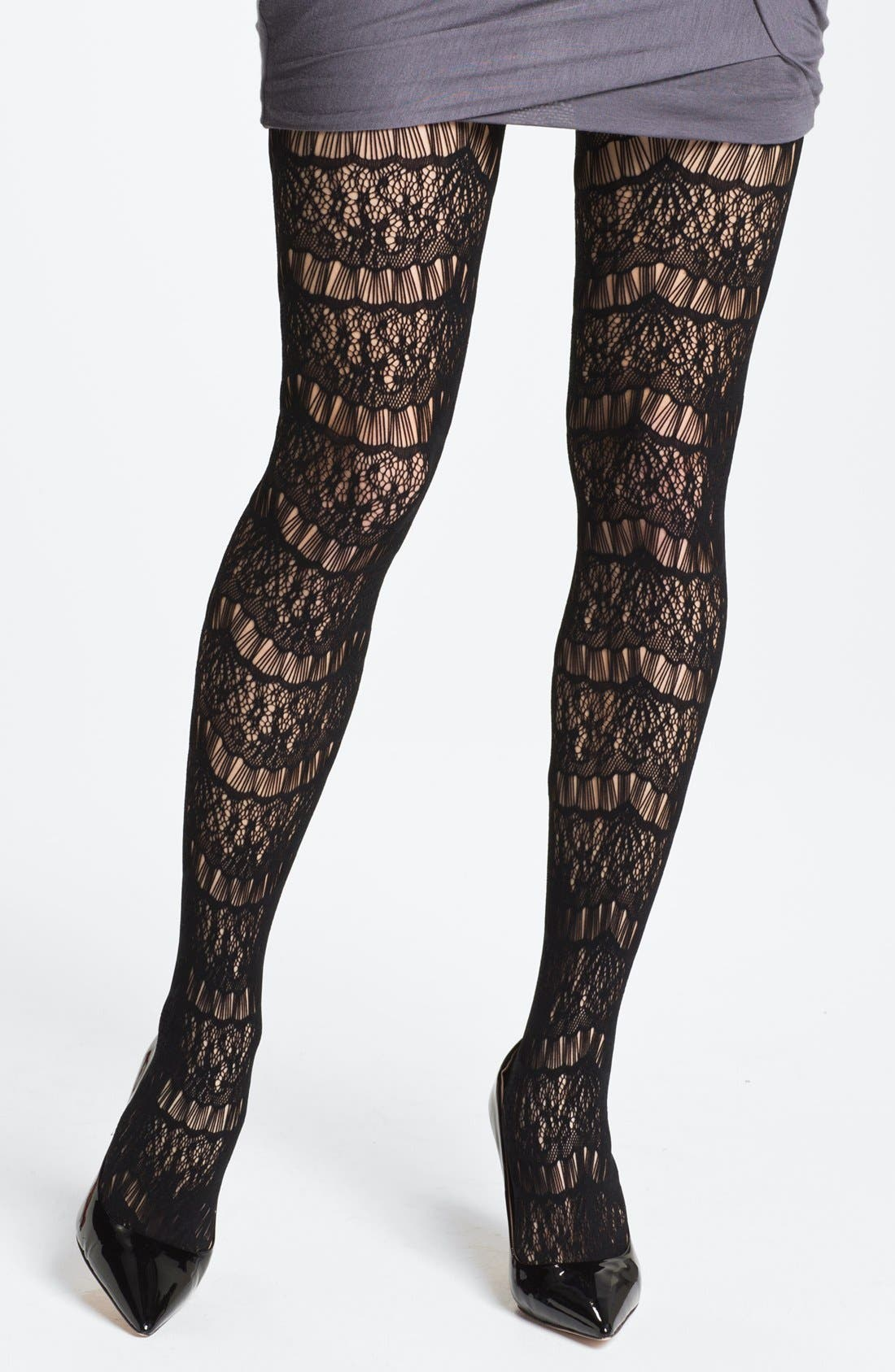Alternate Image 1 Selected - Nordstrom 'Flamboyant' Tights