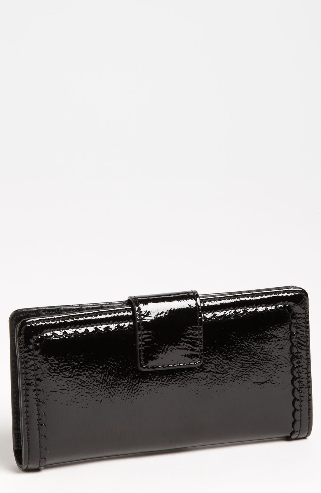 Main Image - Halogen 'Victoria' Scalloped Trim Wallet