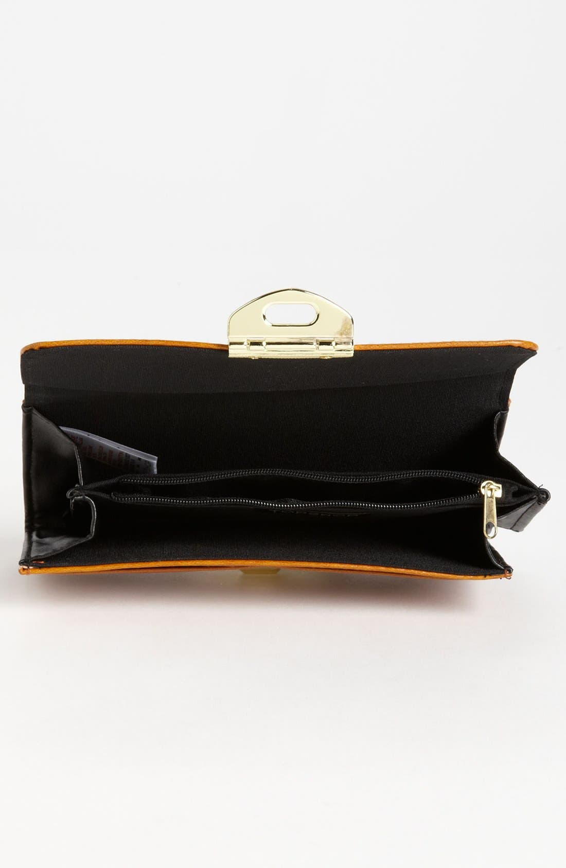 Alternate Image 2  - Topshop Twist Lock Wallet