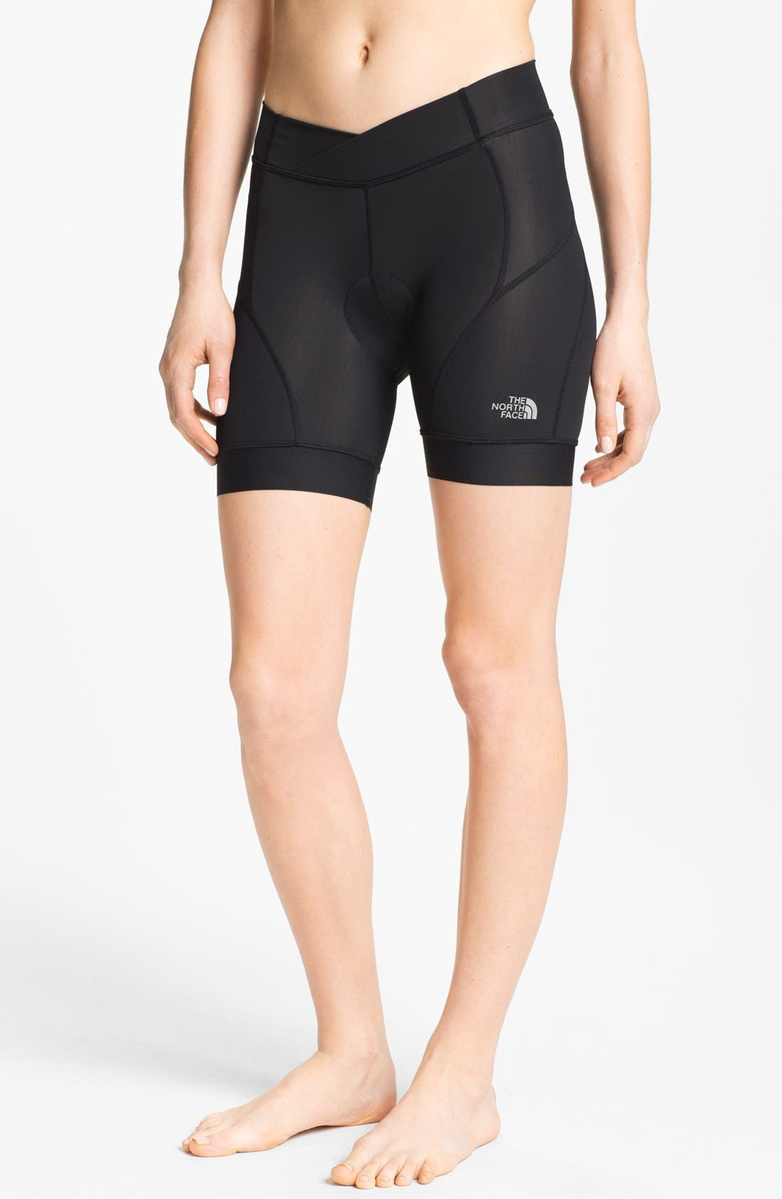 Alternate Image 1 Selected - The North Face 'Slickrock' Padded Chamois Bike Shorts