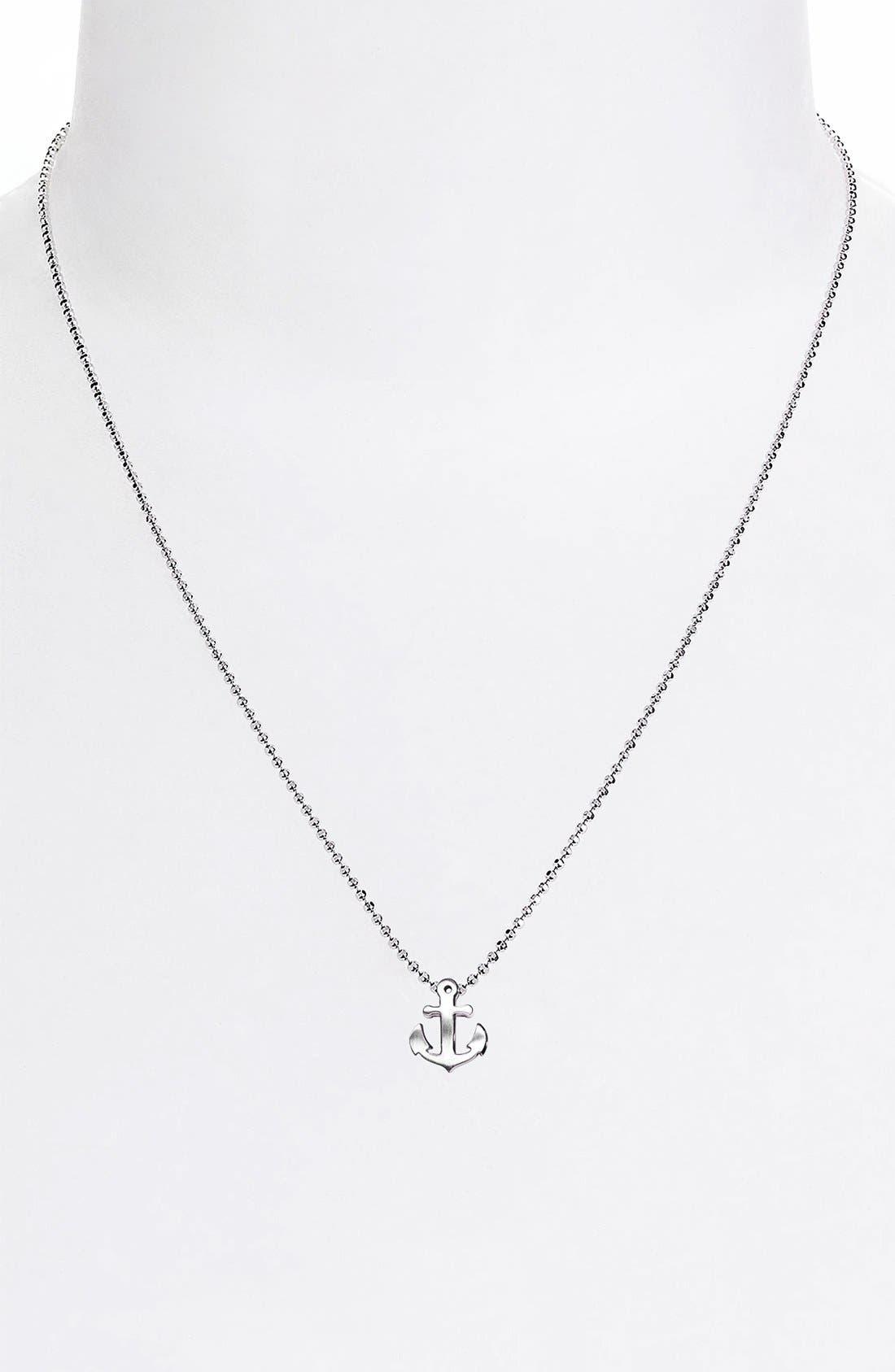Alternate Image 3  - Alex Woo 'Little Seasons' Anchor Pendant Necklace
