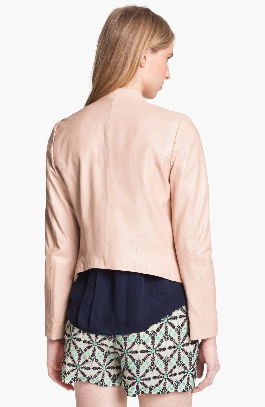 Alternate Image 3  - Joie 'Venette' Crop Leather Jacket